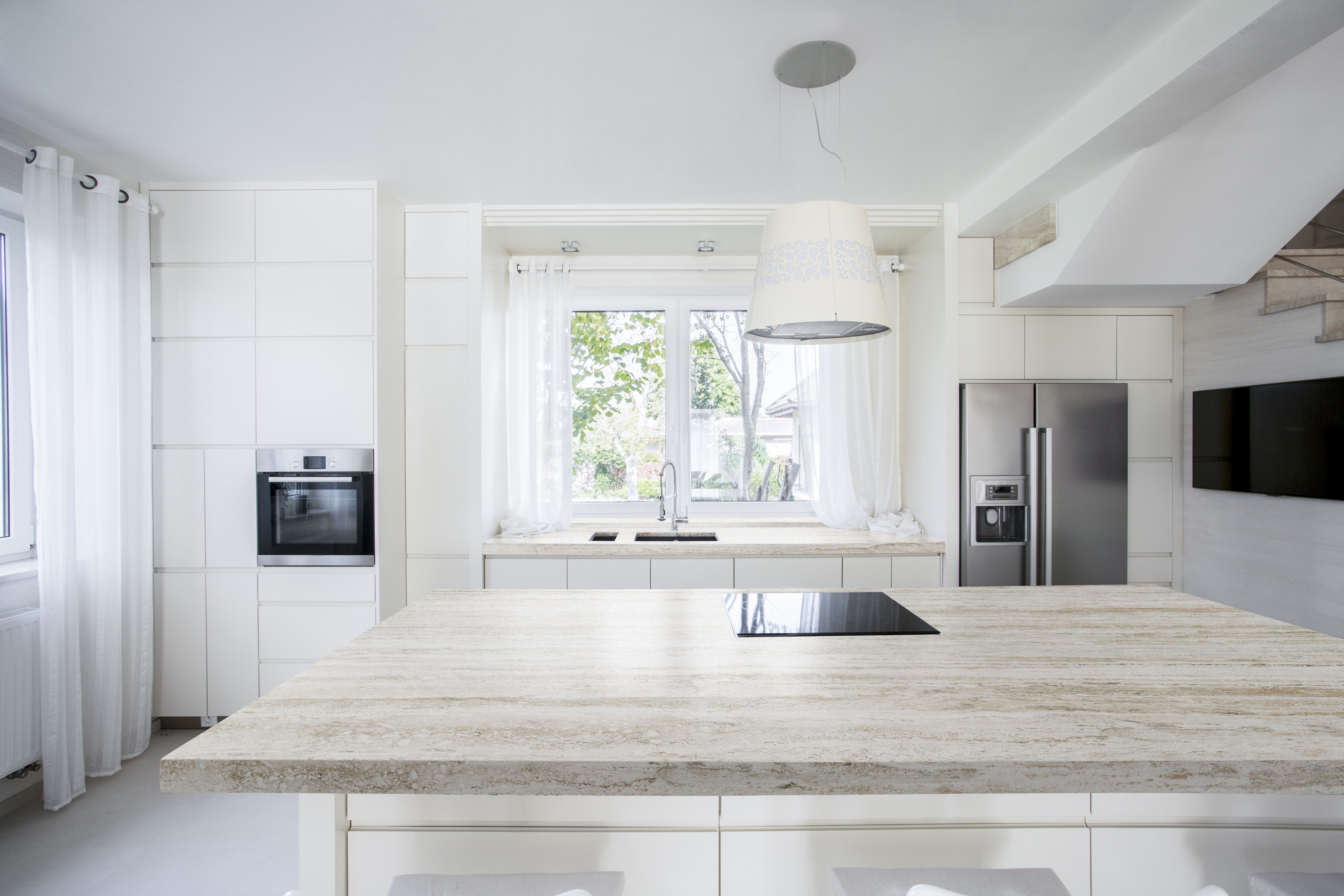 We Love White Kitchens Because They Are Bright Clean And