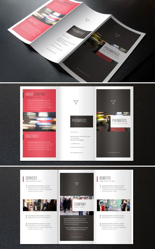 15 free brochure templates for designers to have graphic tutorial