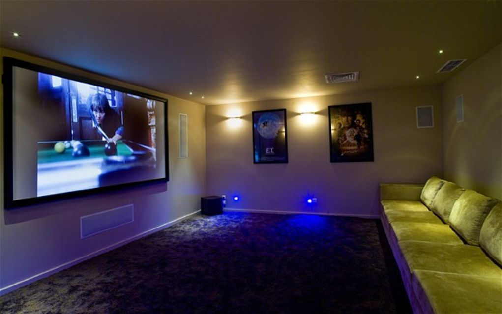20 Home Cinema Room Ideas UltraLinx Projectors/Home Theater