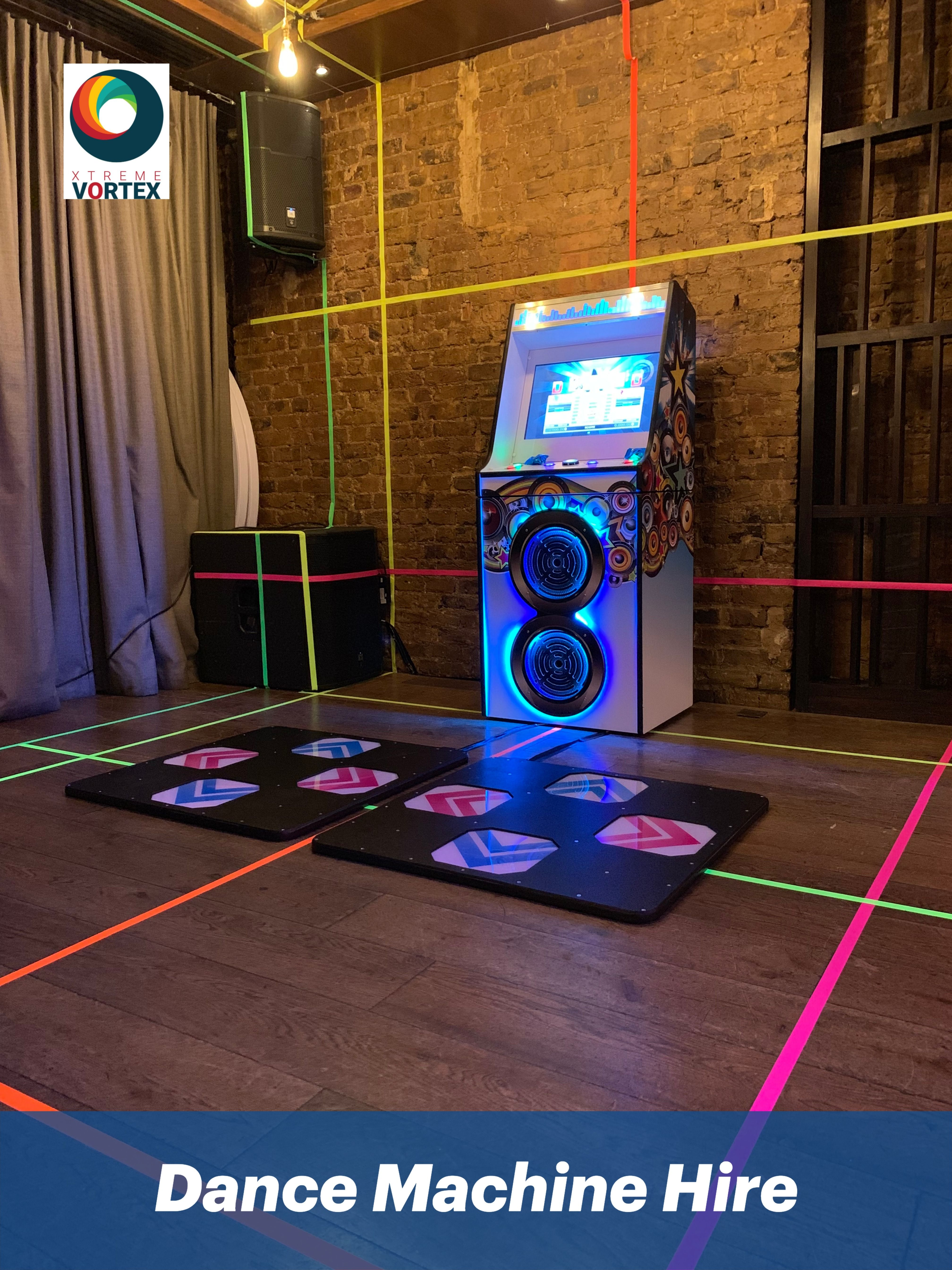 Dance Machine for Hire Dance games, Two player games, Dance