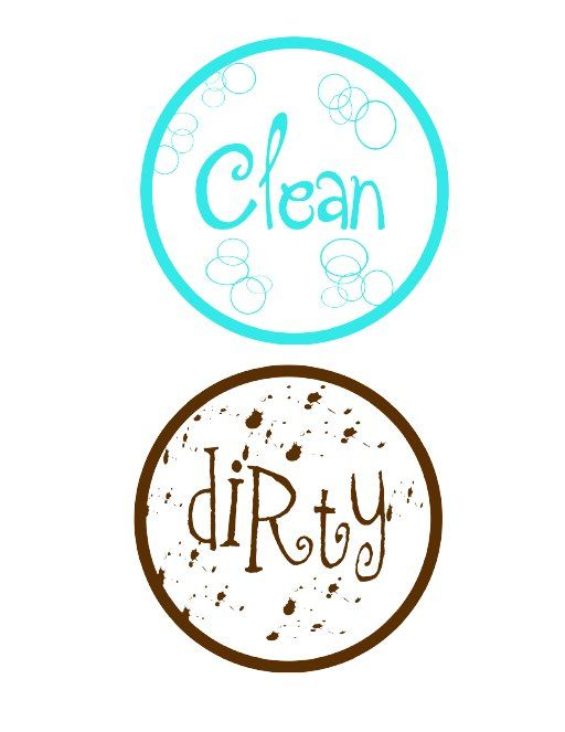 clean dishes sign - photo #31