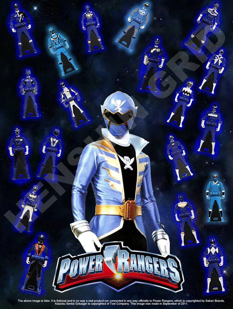 Blue Ranger Keys by LavenderRanger on DeviantArt | Power ...