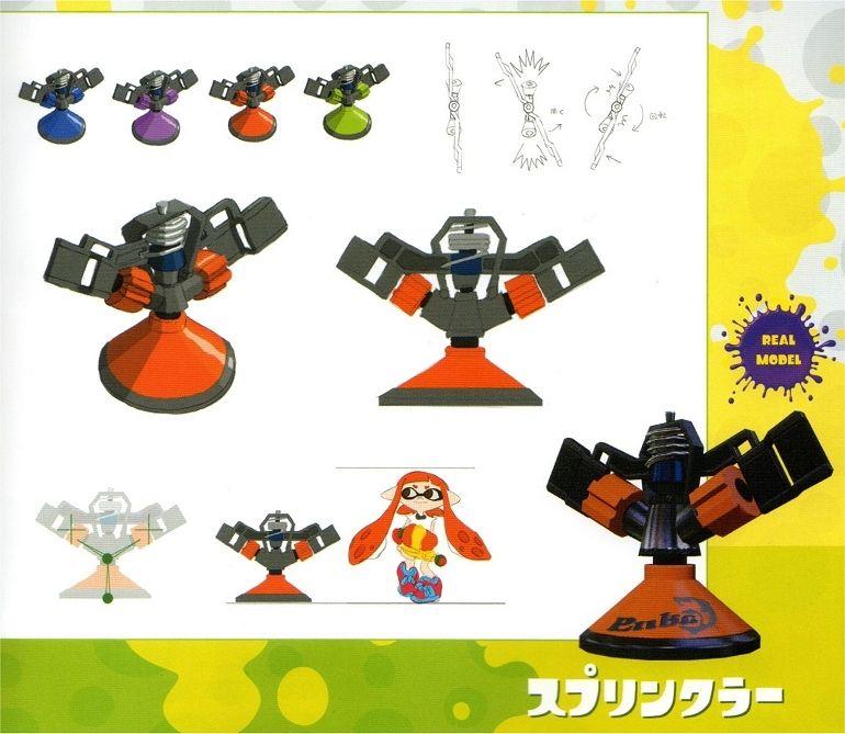 Splatoon Ikasu Artbook Livre Dart Croquis Et Illustration