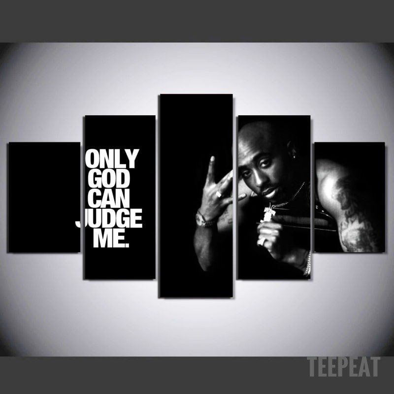 Limited Edition - Tupac - ONLY GOD CAN JUDGE ME   Pinterest