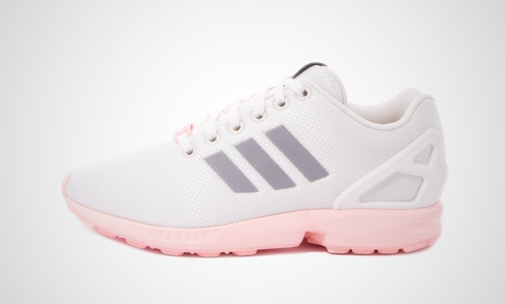 store zx flux rosa weiß a03fc 26273