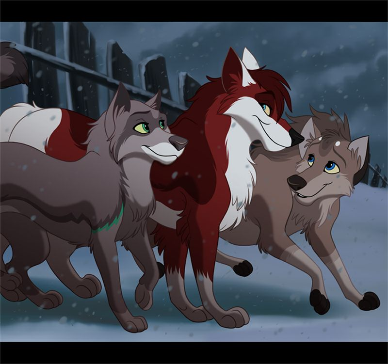 Wolf Pack By Kohu Arts Deviantart Com On Deviantart Cartoon