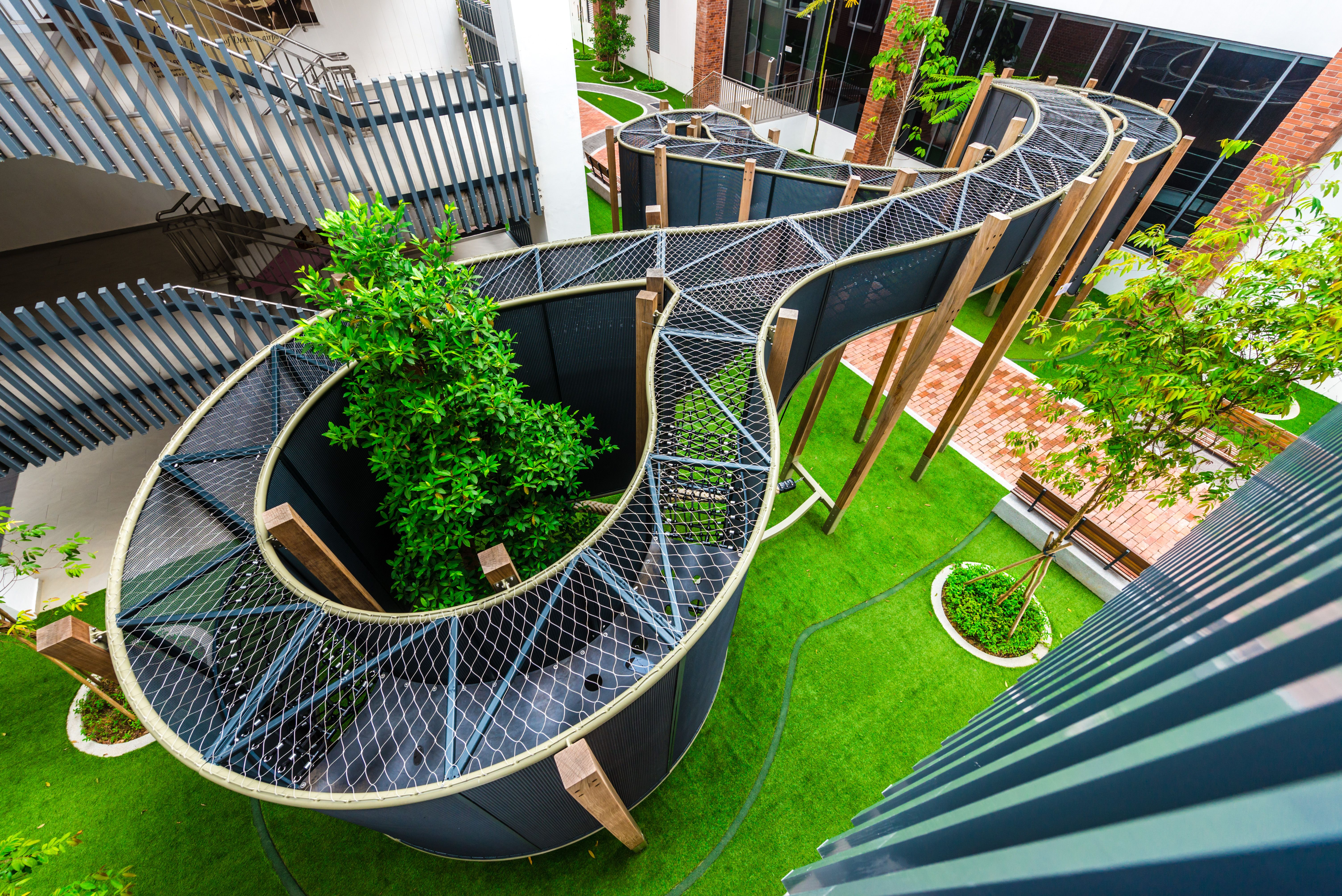 Play Curl Playground At Dulwich College Singapore Playground