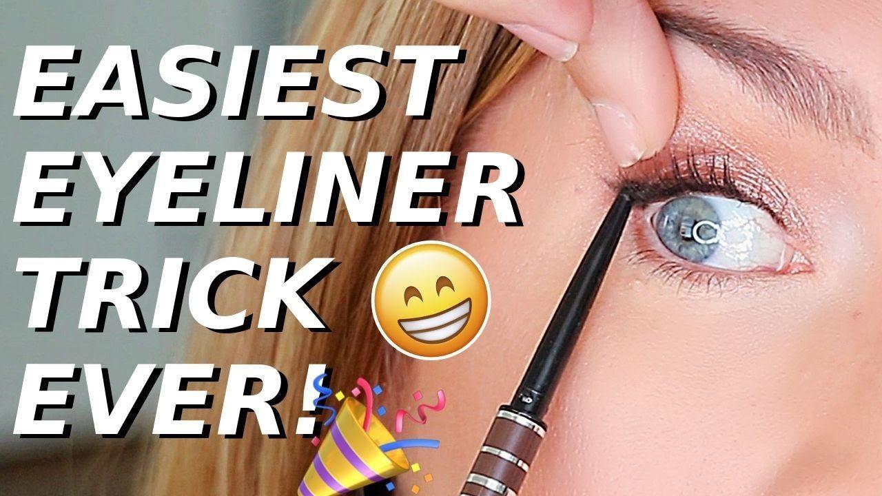 Eyeliner Trick For Hooded Downturned Aging Eyes Quick Easy Eye