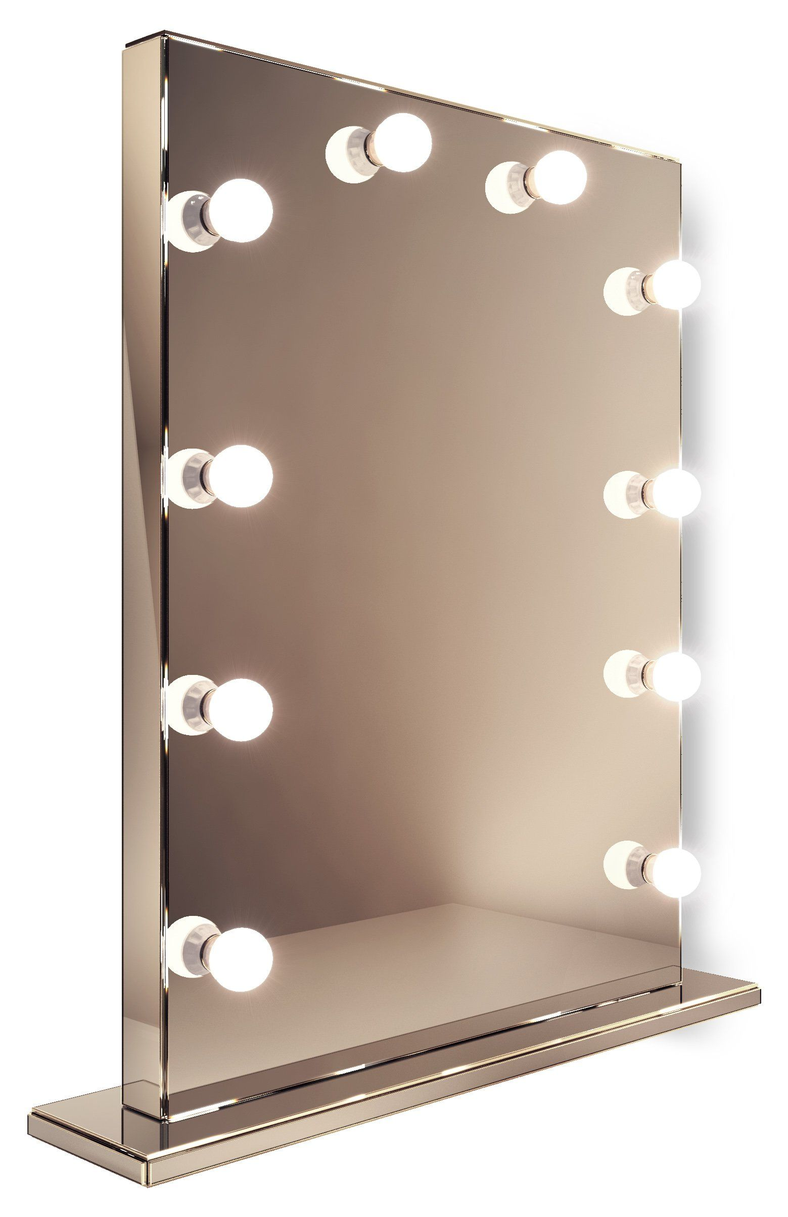 Mirror Finish Hollywood Makeup Dressing Room Mirror with