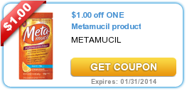 image about Metamucil Coupons Printable identify $1.00 off 1 Metamucil products #coupon Printable Grocery