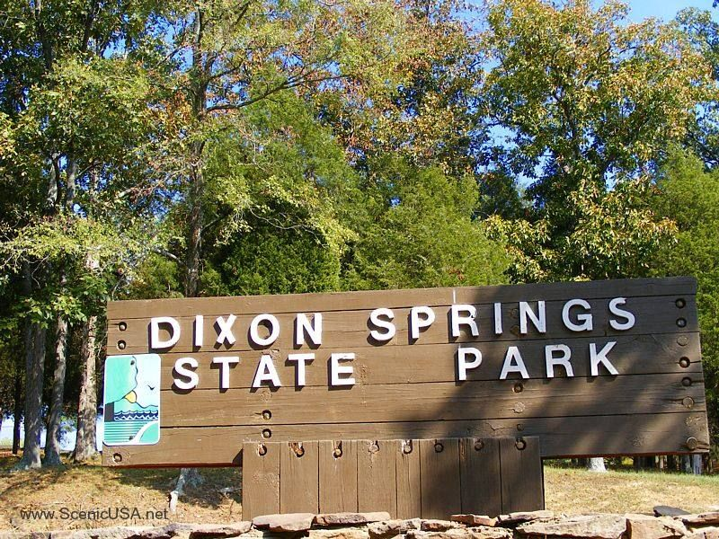 Dixon Springs State Park in Eddyville, Southern Illinois.