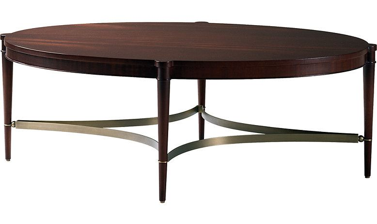 Olivia Coffee Table by Thomas Pheasant - 7855 | Baker Furniture ...