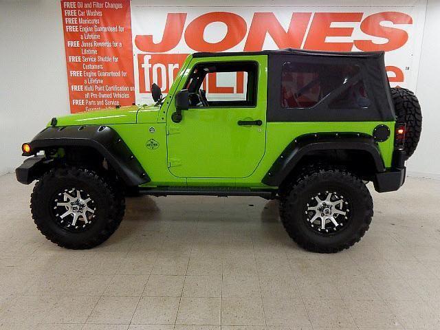 2 Door Jeep Wrangler Lime Green | Jeep Wrangler Lime Green | Mitula Cars