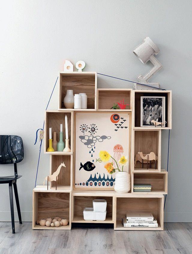 Ou Trouver Des Etageres Cubes Et Maison Pas Cher Idee De Decoration Etagere Cube Deco Recup