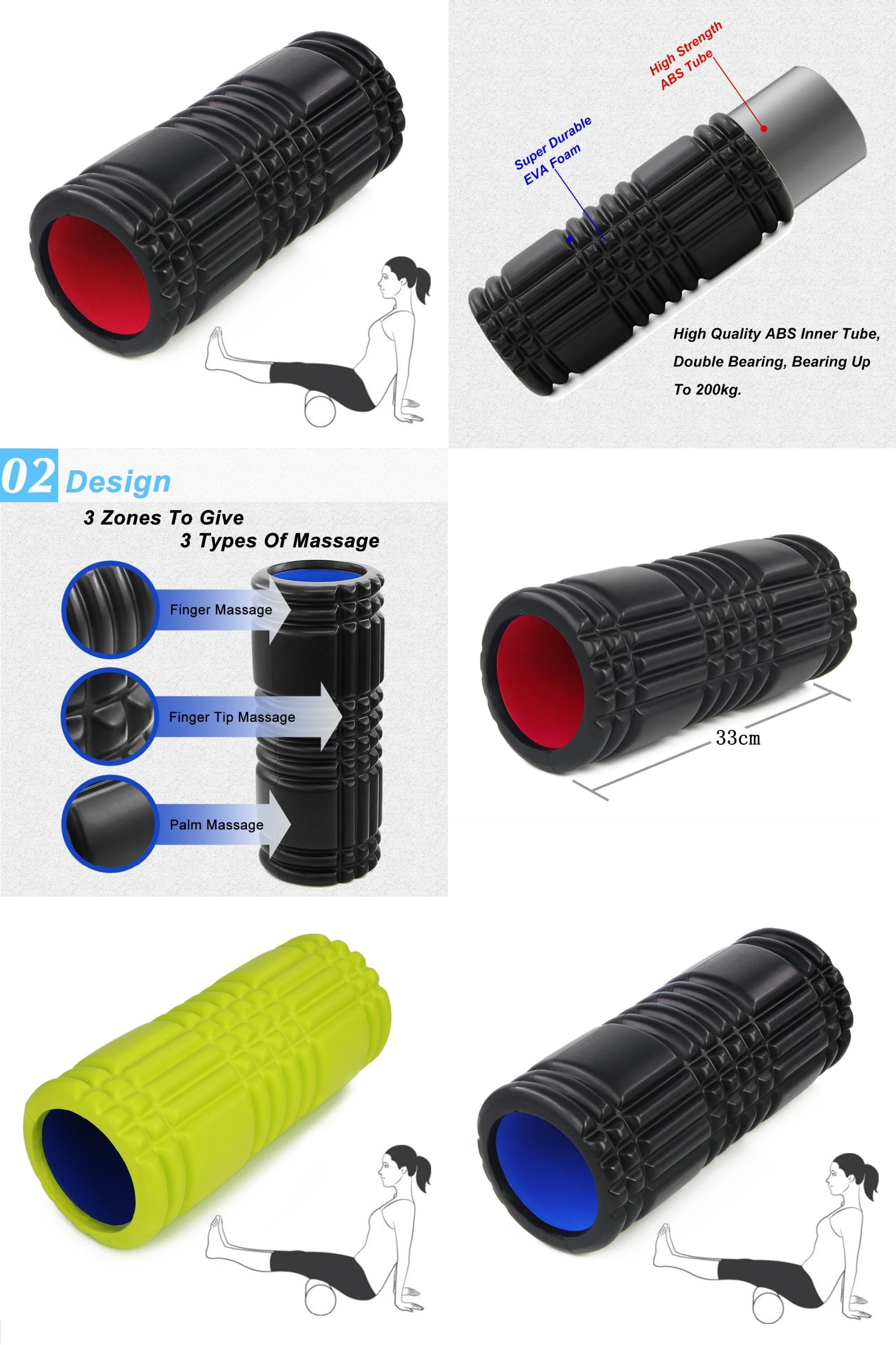 Buy foam roll physical therapy -  Visit To Buy Crossfit Eva Foam Roller Massage Roller Floating Point Fitness Yoga Roller