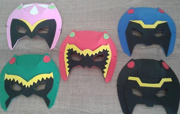 Mascaras De E V A Com Caracteristicas De Cada Personagens Com