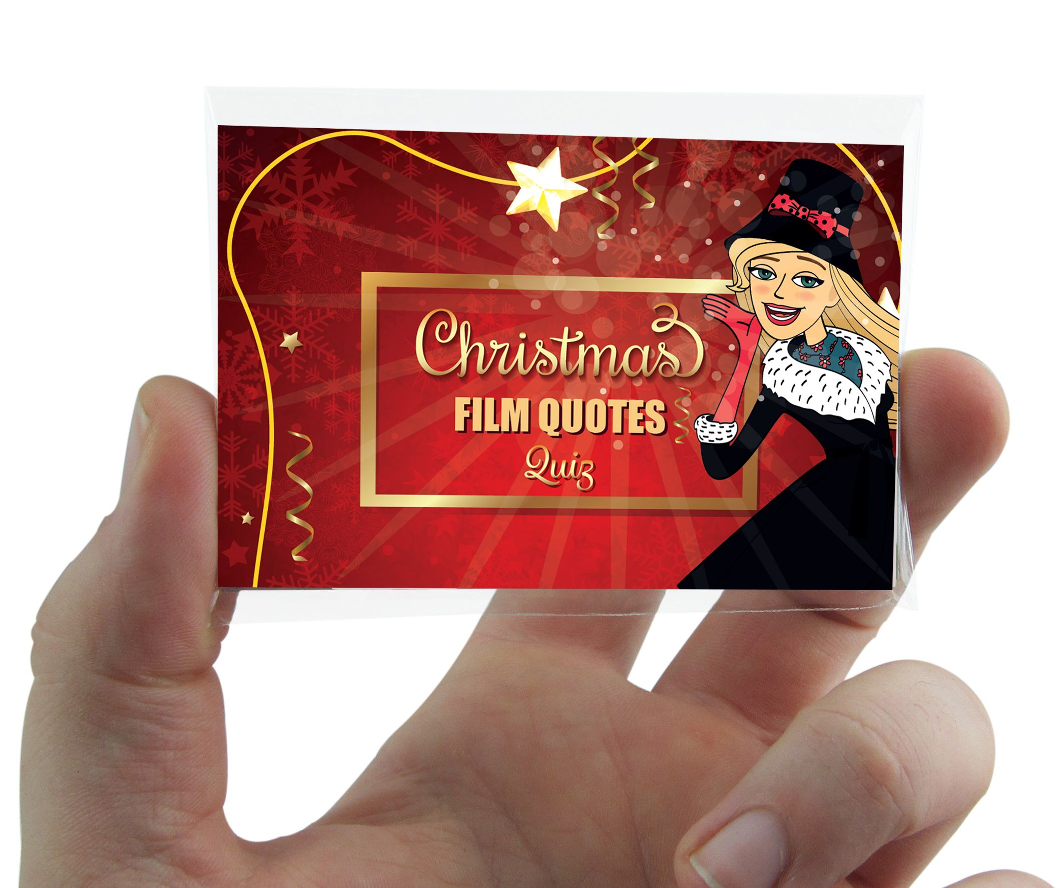 Christmas Film Quotes Quiz Game Novelty Xmas Movie Lines