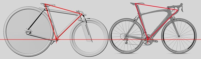 Bicycle Prototype By Paolo De Giusti Experiments With Wheel Ratio