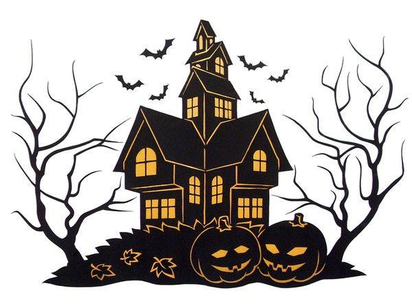 Fensterbild halloween 0 3 bastelvorlagen mit anleitung - Halloween fensterbilder ...