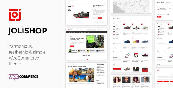 jOLiSHOP - harmonious, aesthetic & simple WooCommerce theme ...