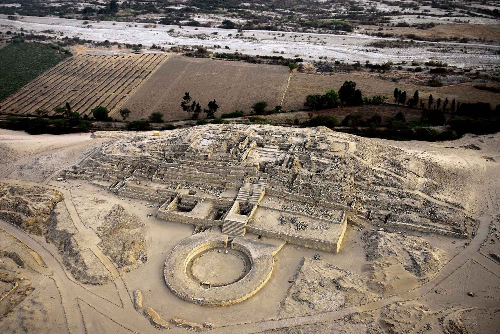 Caral Supe Represents The Oldest Civilization In America