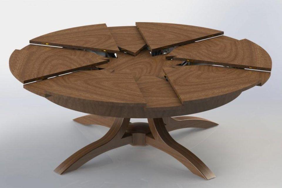 Esstisch Rund Ausziehbar Holz