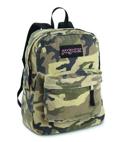 JanSport Tyg6 Wasabi Backpack- Choose Sz/color. One Size Black ...