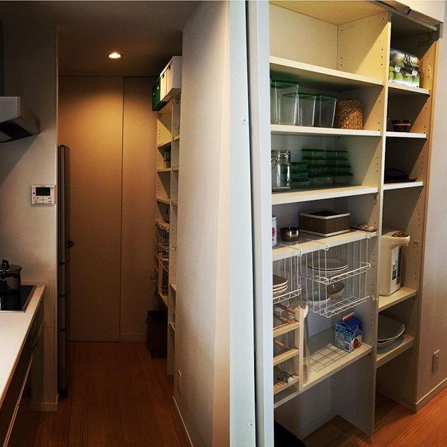間取りプラン 食品庫 パントリー はあると便利 使い勝手や家事動線