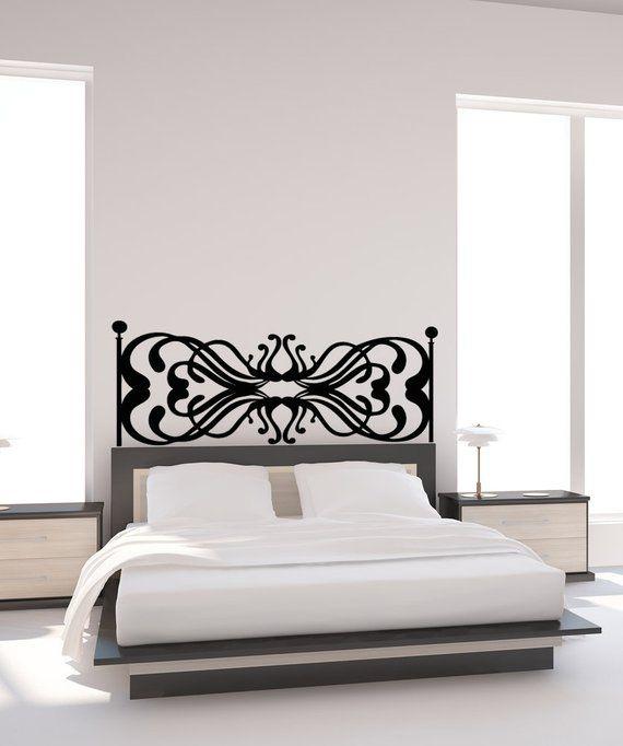 vinyl wall decal sticker headboard design osaa1160b   products