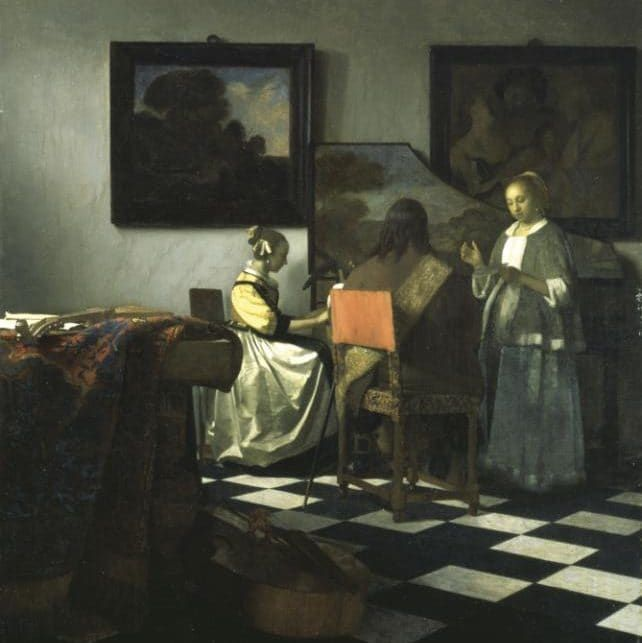 """The Concert"" by Johannes Vermeer"