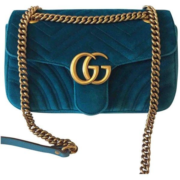 Gucci Pre-owned - Velvet handbag FBOlFVXZ3