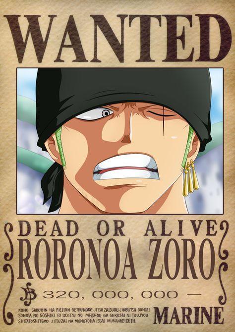 Zoro Dressrosa Wanted Poster By Oliverlastra23 Deviantart Com On Deviantart Roronoa Zoro Zoro Wanted Poster Manga Anime One Piece Anime wallpaper one piece wanted