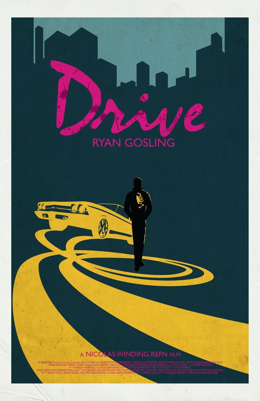 Drive Movie Poster By Jleeisme Deviantart Com On Deviantart