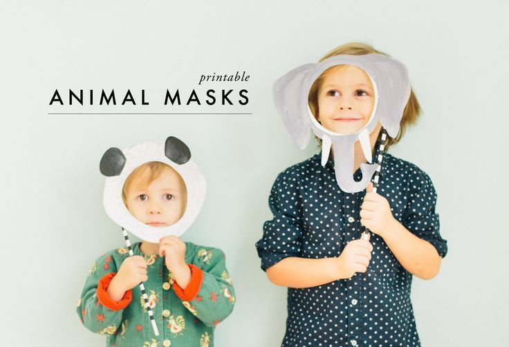 Diy Crafts Ideas     Foster imaginative play with this printable animal mask DIY.    -Read More –