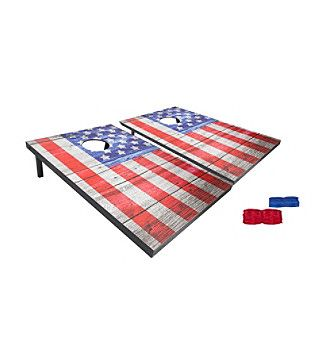 Black Series 10 Piece Vintage Americana Bean Bag Toss