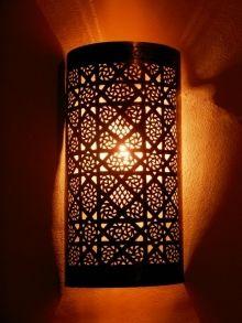 Deco Marocaine Lot De Deux Luminaires Appliques Marocaines En