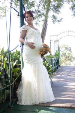 We Can Make Totally Custom Maternity Weddingdresses For The Pregnant Bride At