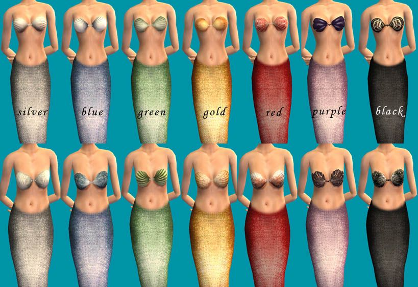 Mod The Sims - The Little Mermaid | Sims 2 Themes: Mermaid