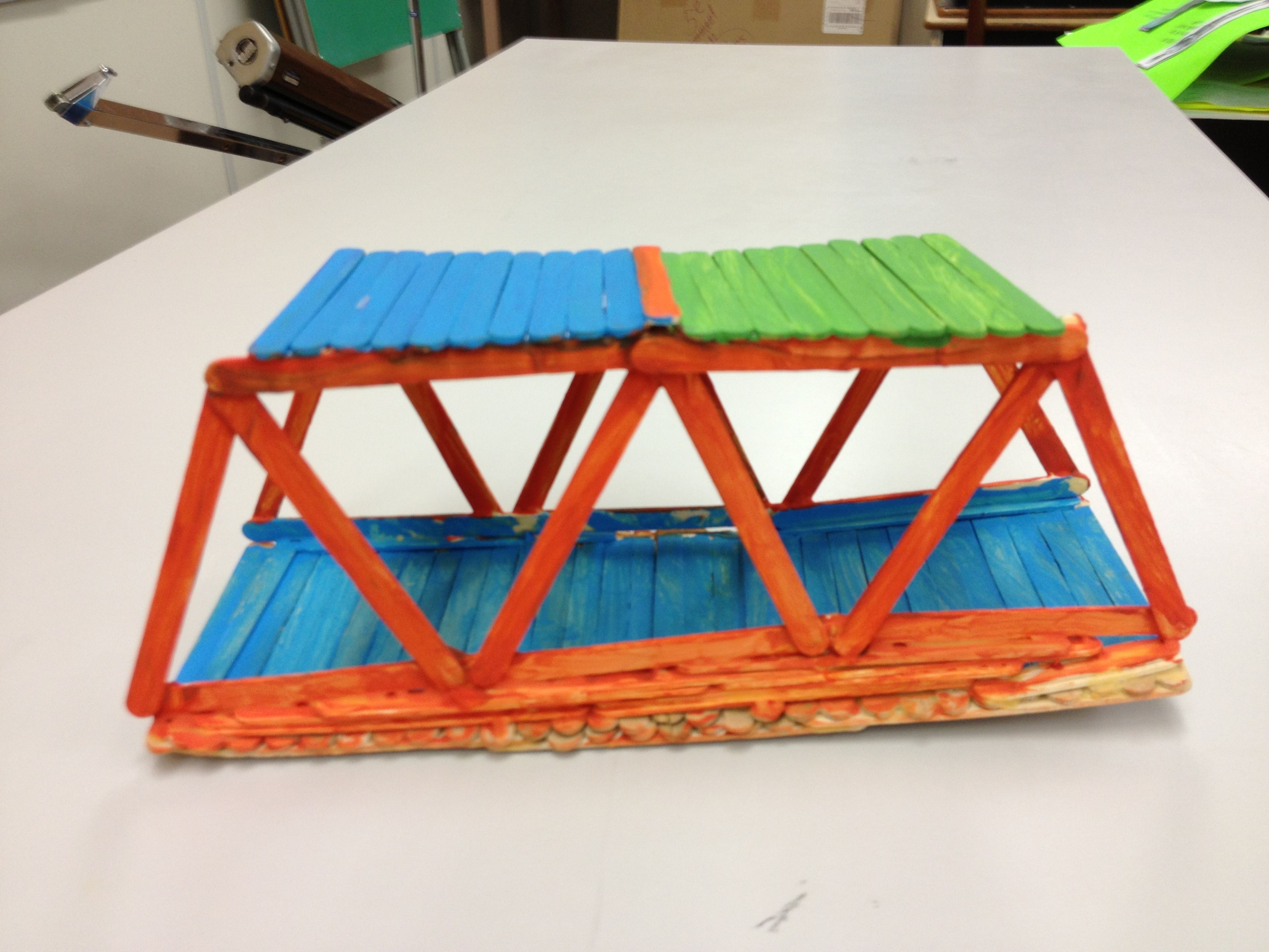 how to build a bridge for school no sticks