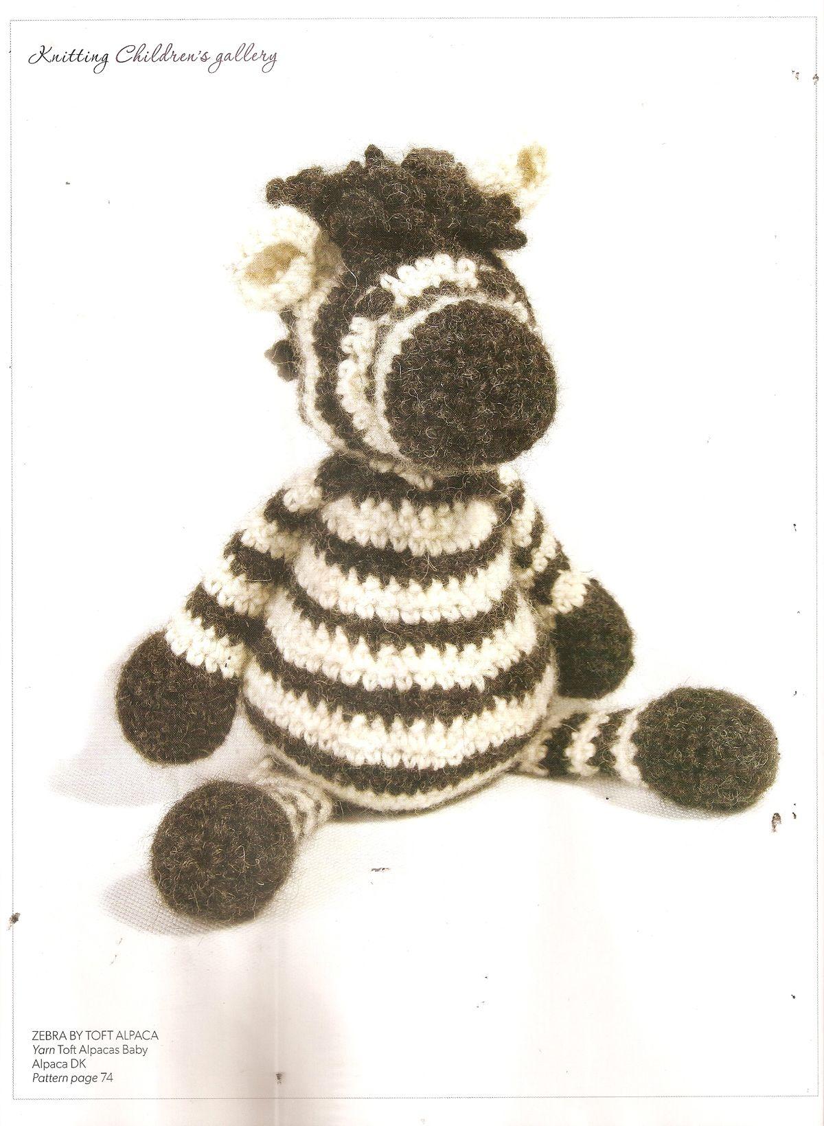 Toft Alpaca - Zebra, Yarn Toft Alpacas Baby. Knitting Magazine ...