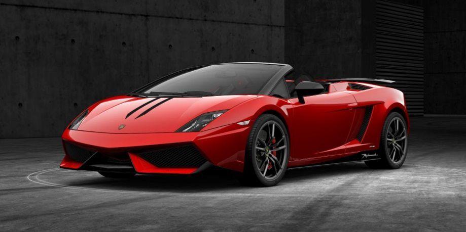 Lamborghini Gallardo Lp 570 4 Spyder Performante Edizione Tecnica
