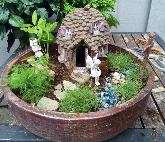 actividades con nios jardines en miniatura blog de babycenter - Jardines En Miniatura