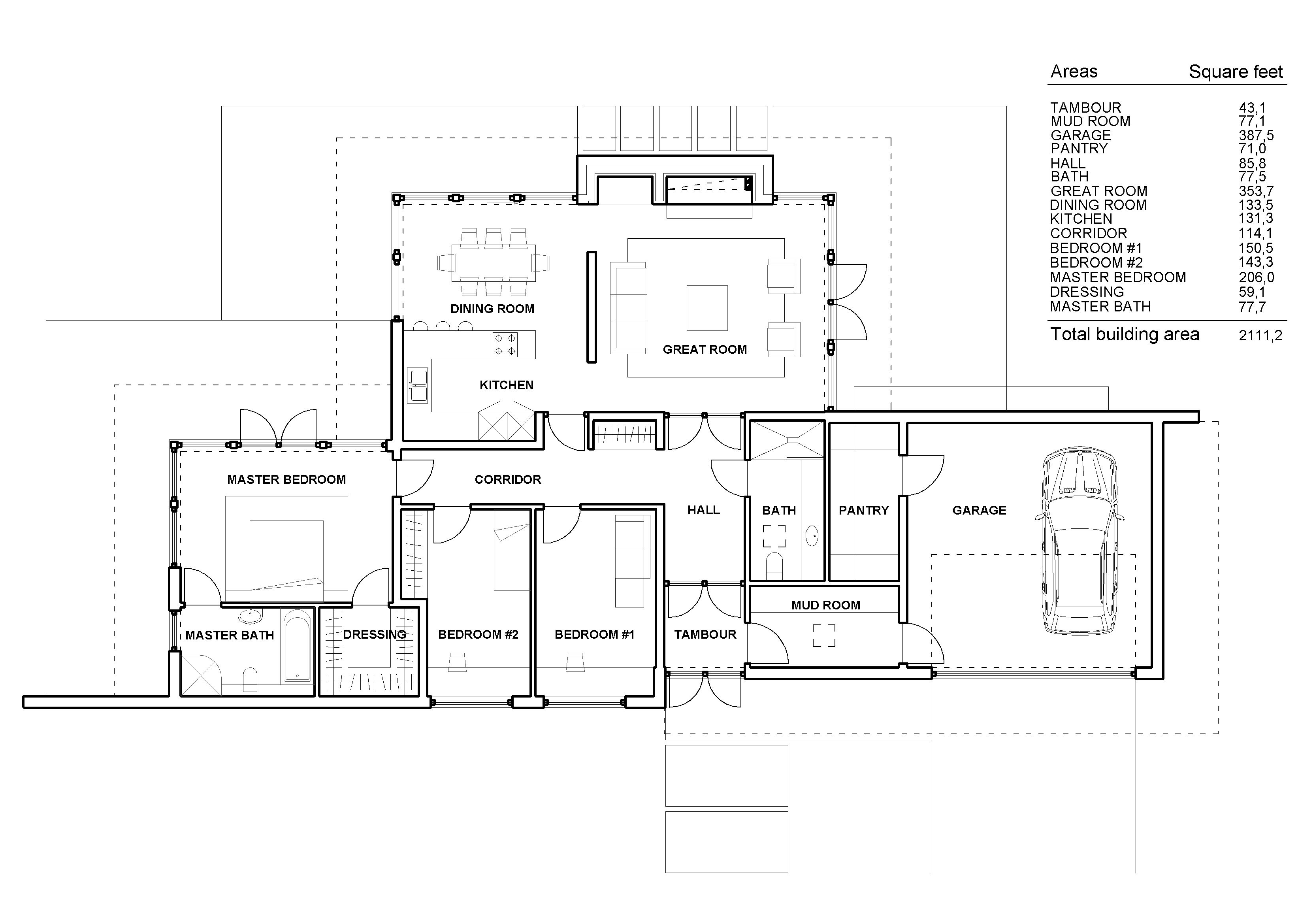 contemporary cottage plans New Modern and CountryCottage House