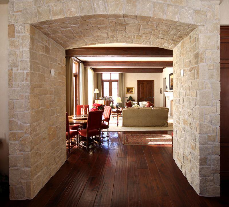 Image gallery interior rock archways for Interior arch