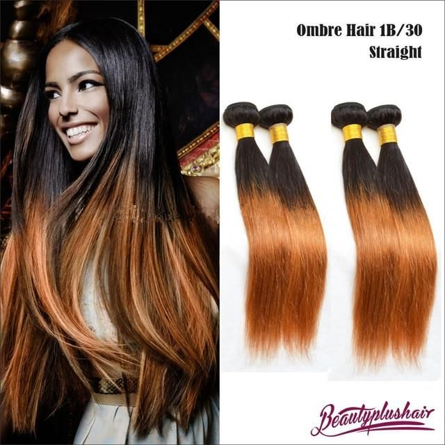 Hair Weft Extensions Ombre Hair Extensions Straight 6a Cheap