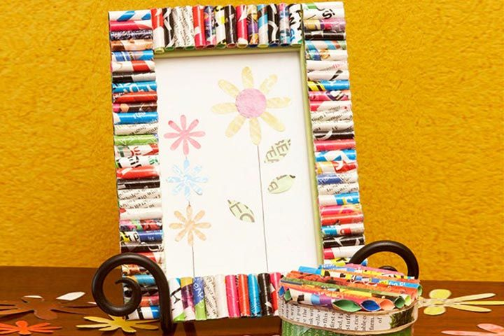Love the magazine and sticks picture frames. Those could be used as gift ideas