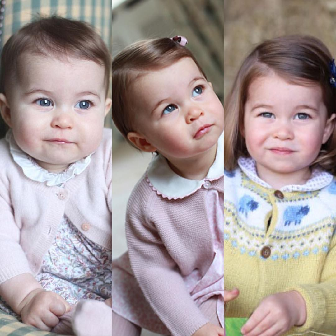 Princess Charlotte In 2015 (baby), 2016 (1 Year Old) En