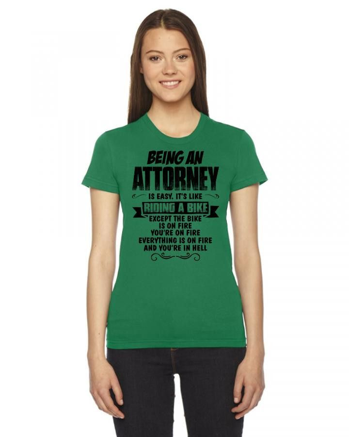 being an attorney copy Women's Tee