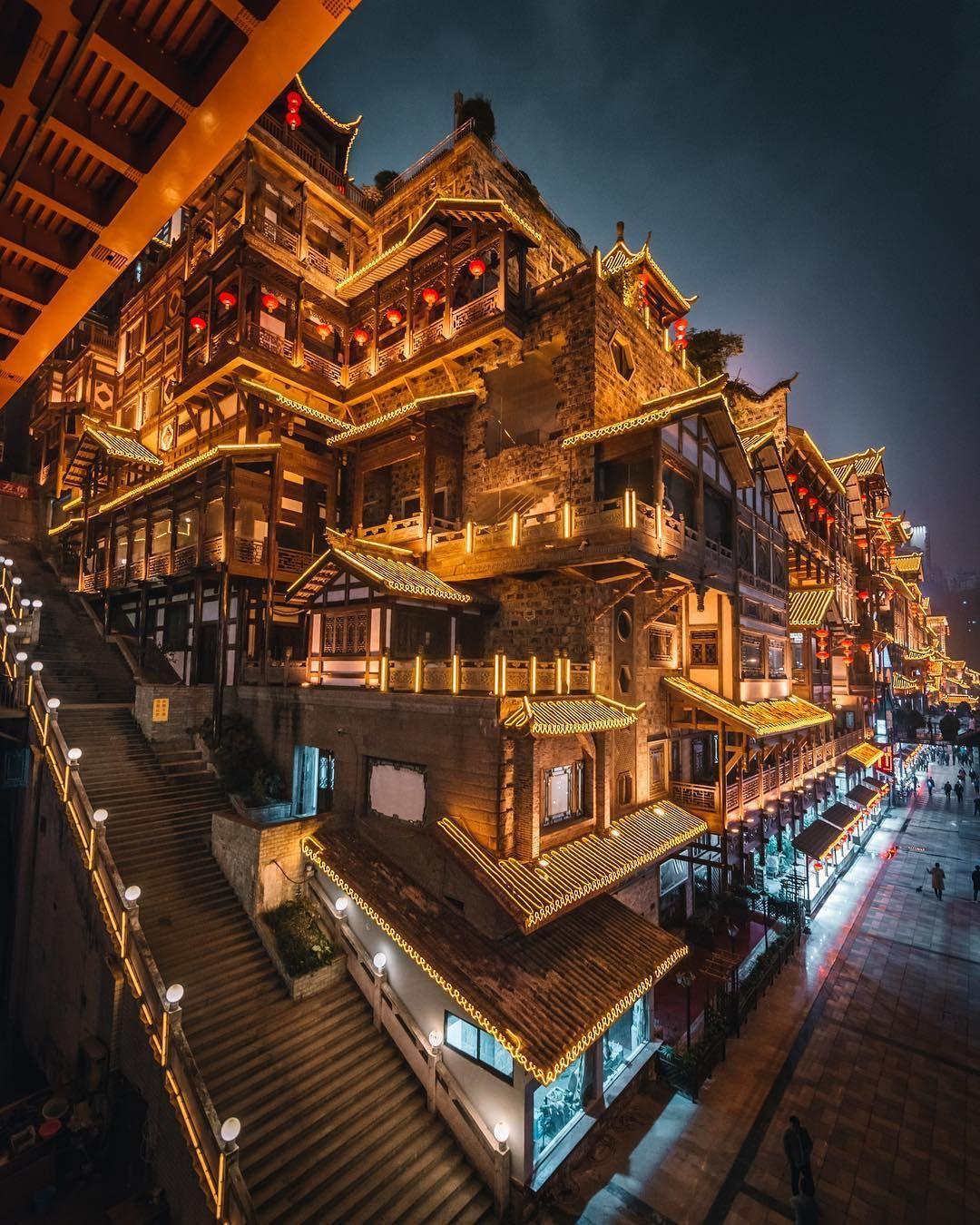Tristan Zhou 周哲成 On Instagram Spirited Away 中国建築 旅行参考イメージまとめ 都市景観