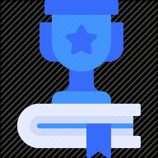 Achievement Award Book Education Trophy Icon Download On Iconfinder Icon Education Achievement